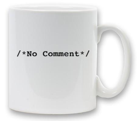 nocommentmug